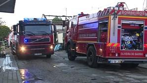 Ação solidária para casal de bombeiros afetado por fogo em Oliveira do Bairro
