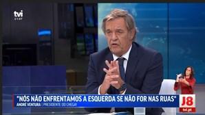 Miguel Sousa Tavares comete gaffe em direto e é arrasado devido a entrevista a André Ventura na TVI