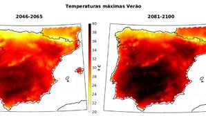 Aumento das temperaturas vai 'assar' Península Ibérica, avança estudo
