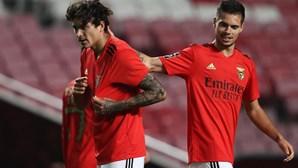 Darwin e Weigl voltam a testar positivo à Covid-19. Vão falhar jogo do Benfica na Madeira