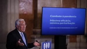 """""""O meu governo está unido nesta visão"""": António Costa rejeita dicotomia entre economia e saúde"""