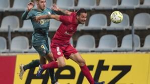Sporting de Braga avança para quarta eliminatória da Taça com golo nos descontos frente ao Trofense