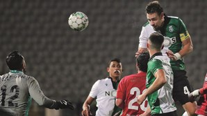 Eficácia do Sporting foi suficiente para seguir em frente na Taça