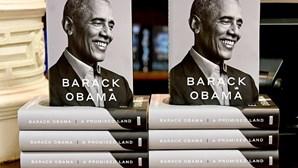 Memórias de Obama venderam mais de 1,7 milhões de cópias na primeira semana nos EUA
