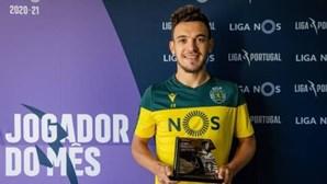 Trio sportinguista à espreita da vaga de Pedro Gonçalves