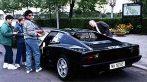 Morreu Maradona. Recorde a história de quando El Pibe pediu um Ferrari e recusou-o mal o viu
