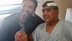 Última foto divulgada de Maradona antes de morrer gera polémica