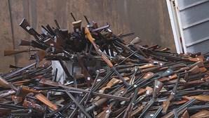 PSP destrói mais de 13.500 armas para assinalar Dia para a Eliminação da Violência contra Mulheres