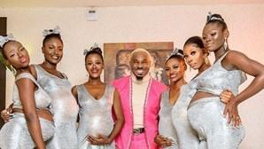 Empresário surge em casamento com seis mulheres grávidas e reclama paternidade das crianças