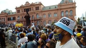 Velório de Diego Armando Maradona estendido por mais três horas