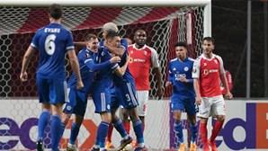 Braga sofre empate dramático contra o Leicester mas fica a um triunfo do apuramento na Liga Europa