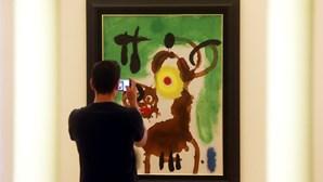 Pedida prisão por burla com quadros de Miró