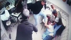 Oito homens atacam proprietários e funcionário de restaurante em Odivelas