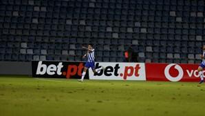 FC Porto derrota Santa Clara por uma bola a zero nos Açores