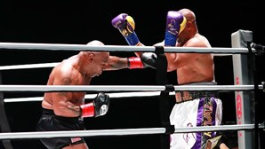 Ringue só para maiores de 50: Mike Tyson e Roy Jones Jr. regressam ao boxe para 8 rounds intensos
