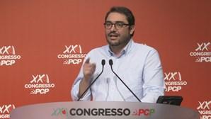 """João Oliveira diz que PCP é """"espinha atravessada na garganta"""" do capital"""