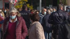 Milhares de pessoas fizeram compras na feira da Senhora da Hora em Matosinhos