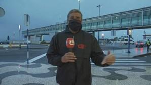 Jogadores do Benfica insultados por grupo de adeptos à chegada à Madeira