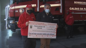 População angaria mais de 130 mil euros para ajudar bombeiros das Caldas da Rainha