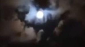 Fã acredita ter visto silhueta de Maradona nos céus da Argentina e partilha imagem do momento