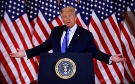 Donald Trump reage aos primeiros resultados