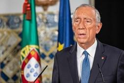Marcelo fez declaração curta de cinco minutos e frisou que 84% do Parlamento apoia decisão