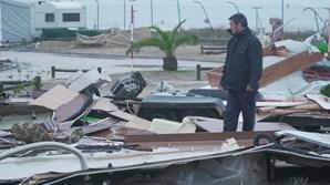 Região Centro foi das mais afetadas pela tempestade 'Leslie'