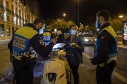 Uma Lisboa quase sem vida na primeira noite de recolher obrigatório