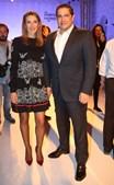 Mário Ferreira com Paula Paz Dias, que se prepara para assumir lugar na administração