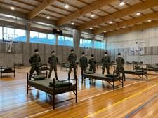 Exército, Marinha  e Força Aérea montaram hospitais de campanha
