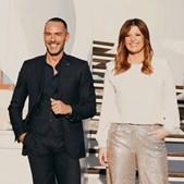 Cláudio Ramos e Maria Botelho Moniz