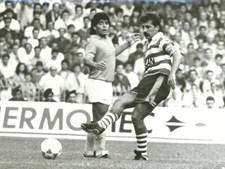 Maradona no jogo contra o Sporting