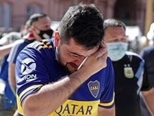 Uma Argentina em comoção despede-se do seu ídolo, Diego Armando Maradona