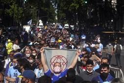 O último adeus a Diego Maradona