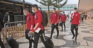 Jogadores do Benfica insultados na Madeira