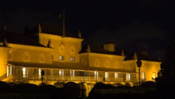 Palácio de Belém iluminado para dar visibilidade ao combate contra a violência doméstica