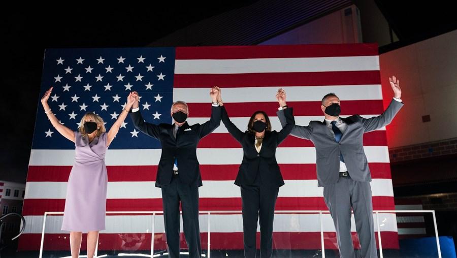 Kamala Harris e Joe Biden apelam à união