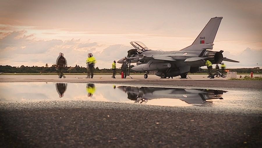 As missões arriscadas dos pilotos portugueses numa base junto à fronteira com a Rússia