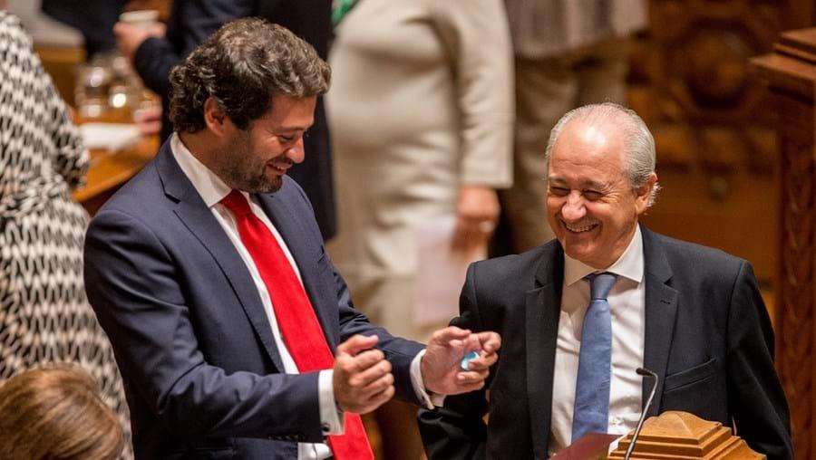 André Ventura e Rui Rio