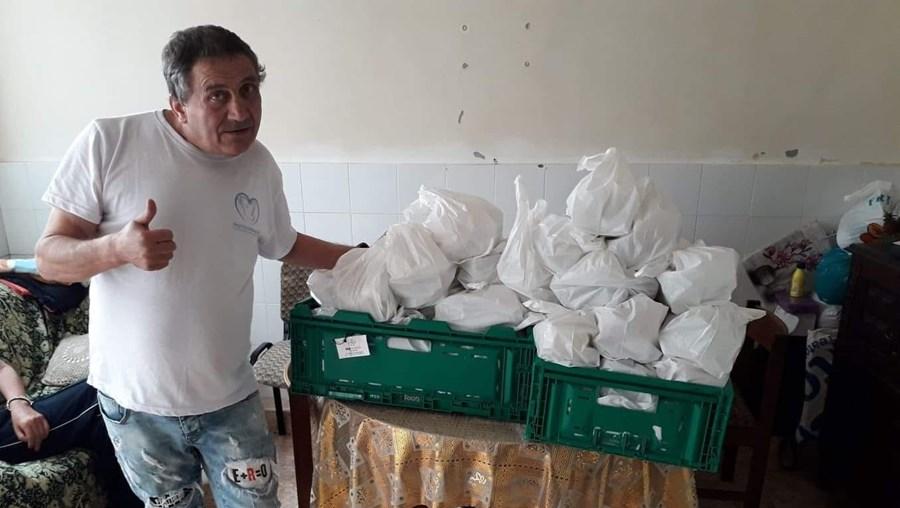 Alfredo Marques Carvalho foi sem-abrigo e criou associação para ajudar outras pessoas em situação vulnerável