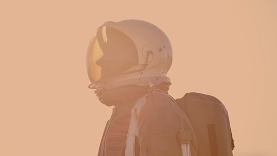 Missão espacial, astronauta