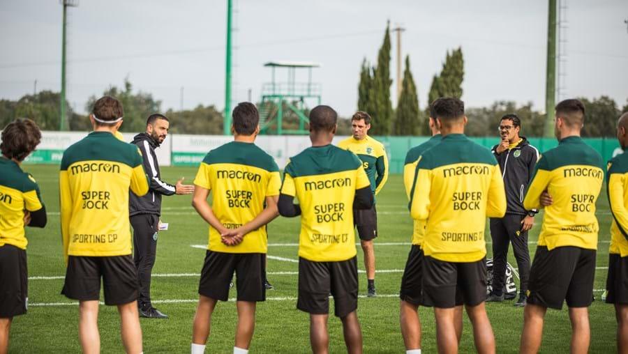 Rúben Amorim alertou os jogadores leoninos para a necessidade de não facilitarem no jogo com o Sacavenense
