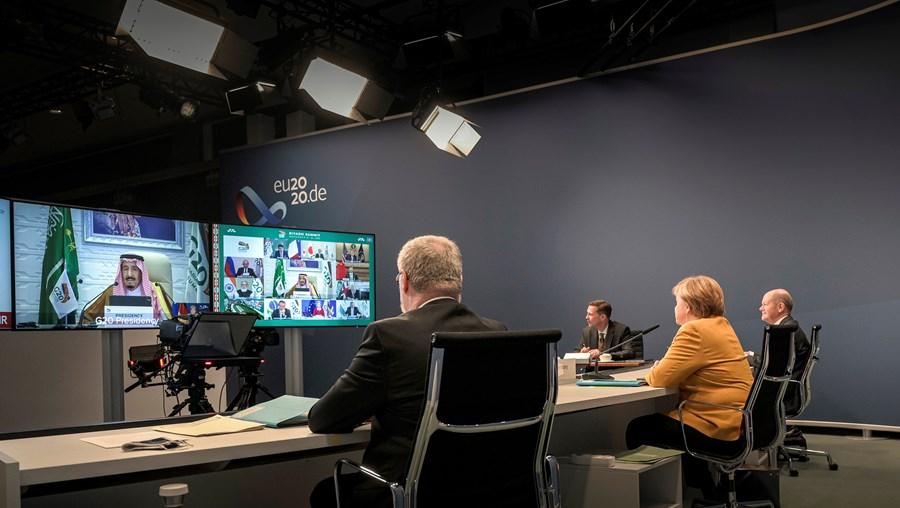 Reunião do G20 decorreu através de videochamada devido à pandemia