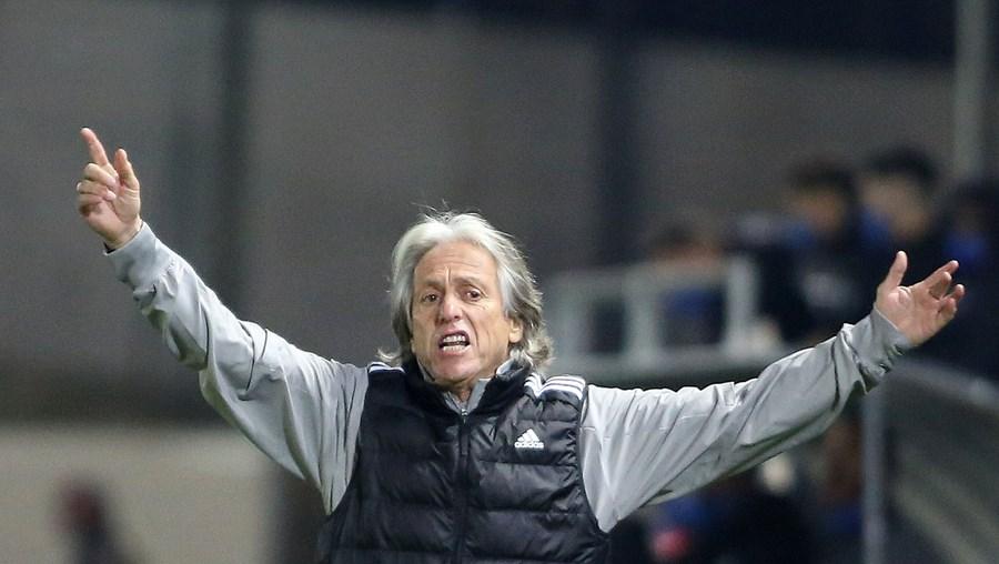 """Jorge Jesus falou dos """"valores essenciais para uma equipa ser campeã"""" após o jogo da Taça de Portugal em Paredes"""