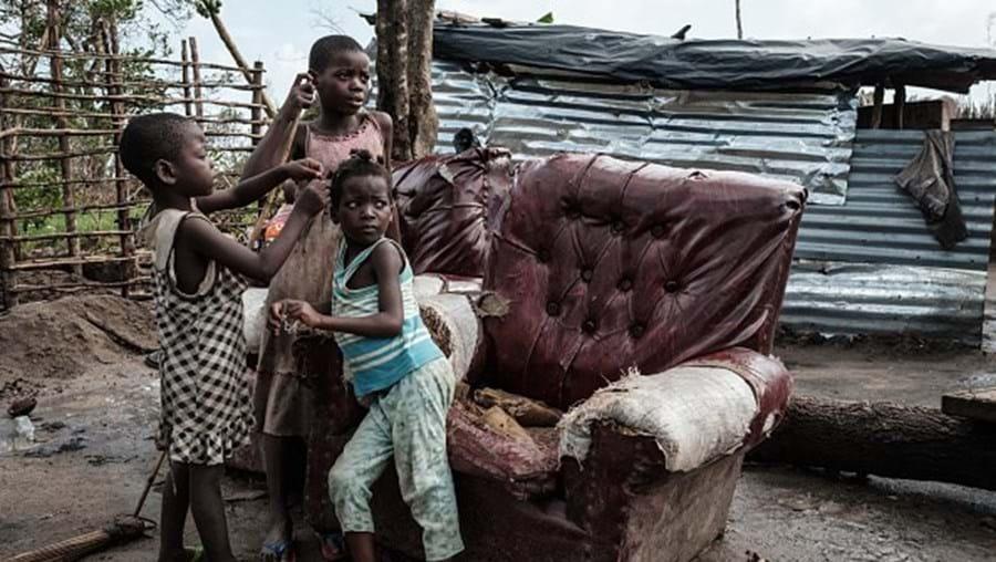 Crianças em Moçambique