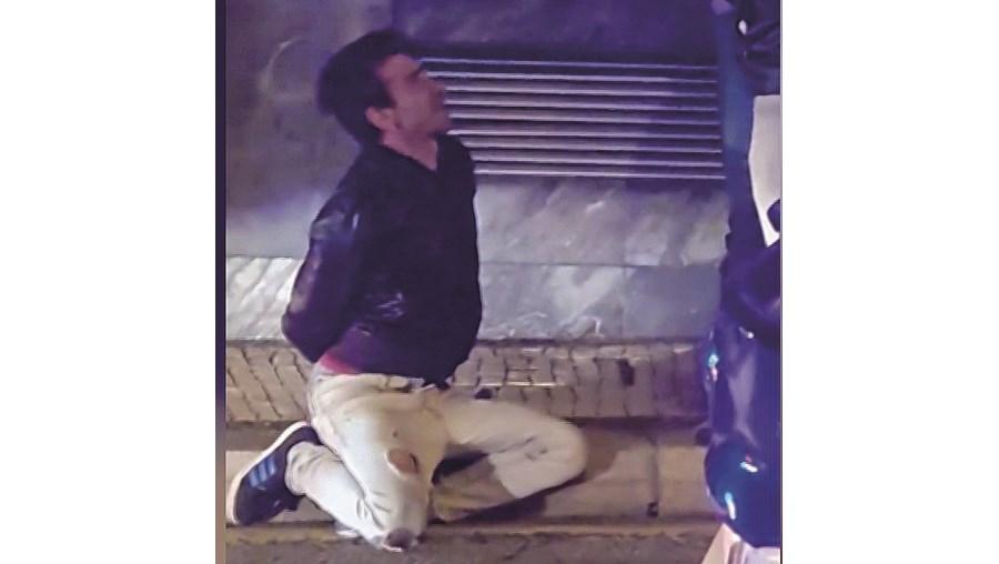 Bruno Ferreira detido no local
