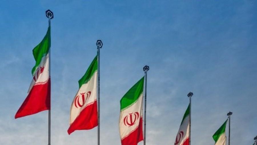 Irão - bandeiras