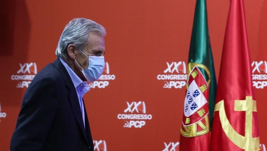 Jerónimo de Sousa no Congresso do PCP