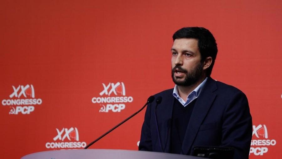João Ferreira no congresso do PCP