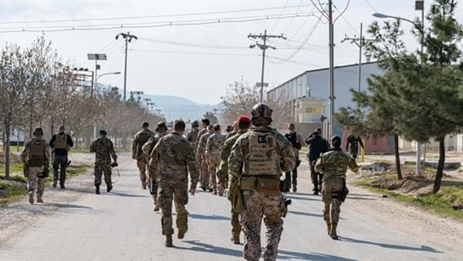 Forças afegãs